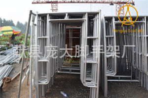 China SGS Width1.219m Galvanised Layher Frame Scaffold pictures & photos