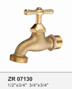 Zr07130 Brass Bibcock Lavatory Tap pictures & photos