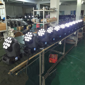 DMX512 RGBW Movinghead LED Beam 12X12W pictures & photos
