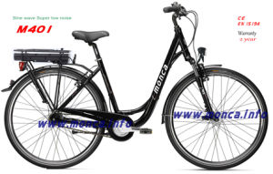 2017 M401 Sine Wave Super Low Noise Ce En15194 Certified Electric Bike City Ebicycle Warranty 2 Years pictures & photos