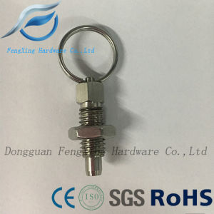 Index Plunger with Ring Pull Spring Loaded Retractable Locking Pin pictures & photos