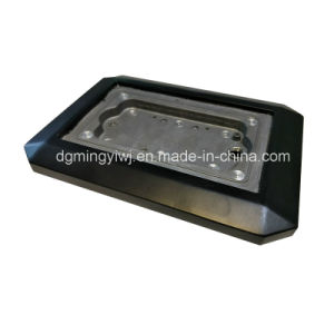 Aluminum Die Casting Heat Sink Parts Black Coating Manufacture by China Factory pictures & photos