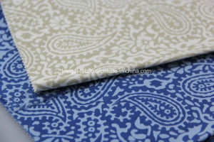 Cotton Satin Dye Ground Printing Fabric for Chino-Lz7856 pictures & photos