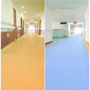 2.0mm Homogeneous Hot Sale PVC Roll Hospital Flooring pictures & photos