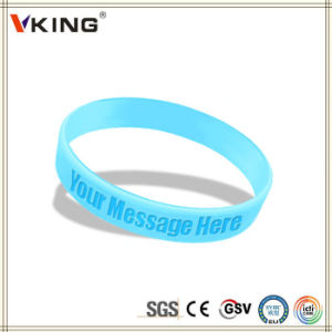 World Selling Product Promotional Silicone Wristband pictures & photos
