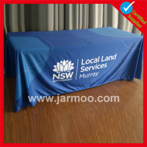 6FT or 8FT Custom Polyester Table Cloth Banner pictures & photos