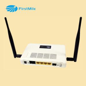 FTTH ONU WiFi Router with IPTV/VoIP/CATV/WiFi pictures & photos