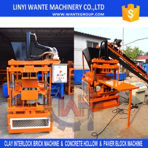 Fully Automatic Hydraulic Press Clay, Cement Interlocking Brick Making Machine Price pictures & photos