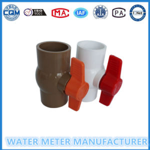 PVC Ball Valve for Water Meter Pipeline pictures & photos