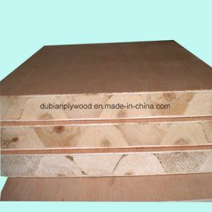 High/Middle/Lower Quality Block Board with Natural Wood Veneer pictures & photos