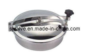 Stainless Steel 316L Sanitary Round Manlids pictures & photos