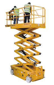 Electric Scissors Aerial Working Platform pictures & photos
