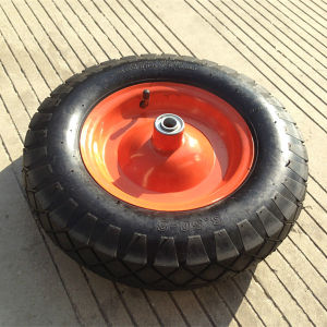 Hand Truck 4.00-8 Rubber Wheels pictures & photos