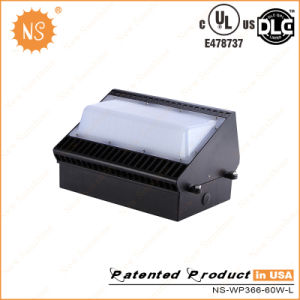 UL Dlc IP65 6000lm 60W LED Wall Pack Fixture pictures & photos