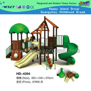 Professional Manufacturer Popular with Kids Outdoor Playground (HD-4304) pictures & photos