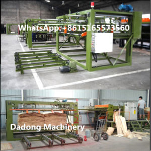 BV Pass Woodworking Machinery Plywood Core Veneer Composer Machine pictures & photos