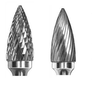 Carbide Burrs Type G Arc Pointed Nose G1225 pictures & photos