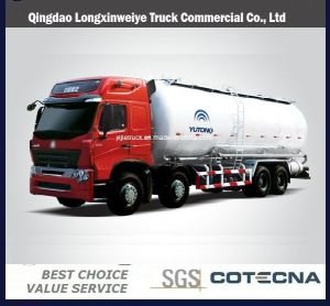 Sinotruk HOWO Bulk Cement Tank Truck with 30m3 Capacity pictures & photos