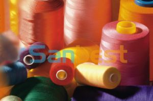 Poly/Poly Corespun Sewing Thread with High Strength pictures & photos