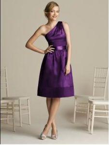 Purple Bridesmaid Dress OGT007B
