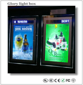 Crystal Light Box with LED Display (SJ038) pictures & photos