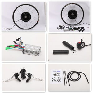 48V 750W 1000W Brushless Gearless Hub Motor Electric Bike Kit pictures & photos