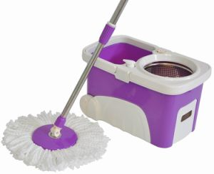 Washable Magic Spin Mop Set pictures & photos