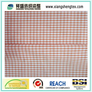 100% Cotton Fabric with Check / Pure Cotton Plaid Fabric pictures & photos