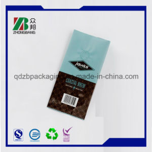 China Factory Side Gusset Coffee Packing Bag with Valve pictures & photos