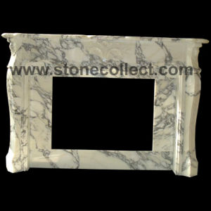 Carrara White Marble Mantel pictures & photos