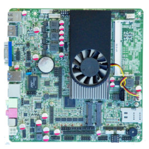 AMD Embedded Industrial Itx Motherboard with VGA/HDMI/Lvds and AMD HD8000 pictures & photos