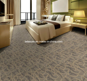 Machine Made Wall to Wall Jacquard Hotel Carpet/PP Wall to Wall Tufted Carpet pictures & photos