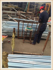 7′x3′ Galvanized Scaffolding Angel Cross Braces pictures & photos