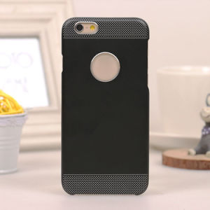 2 in 1 Aluminum Metal Case Cover Soft TPU Skin for iPhone 6 pictures & photos