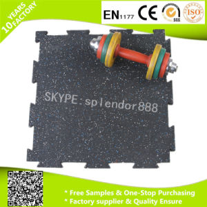 Interlock Sports Rubber Flooring Tiles pictures & photos