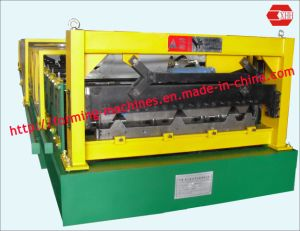 Roof Panel Machine. Roofing Machine Trapezoidal Sheet Making Machine Steel Sheet Making Machine Roll Forming Machine pictures & photos