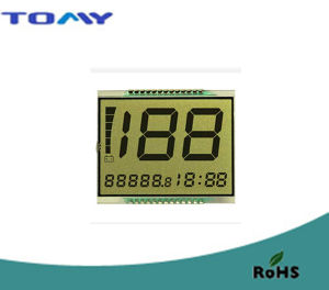 Tn Transflective LCD Display for Motorcycle