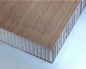 Perforated Ceiling Panels Honeycomb (HR P014) pictures & photos