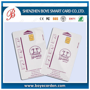 Chip At24c08 Contact IC Smart Card pictures & photos