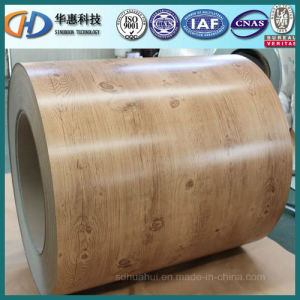 Wooden Pre-Painted Steel Coil PPGI/PPGL From China pictures & photos
