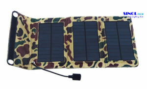 5W 5V Portable Folding Solar Charger for Outdoor Mobile Phone Power Bank pictures & photos
