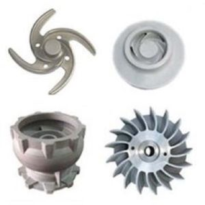 Carbon Steel Casting Water Pump Impeller Machinery Parts pictures & photos