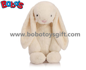Beige Cuddly Plush Stuffed Bunny Animal Toy with Big Ear as Promotional Gift pictures & photos
