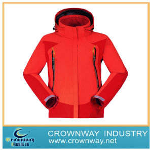 Woman Winter Sports Waterproof Jacket for Skiing (CW-WSKIW-62) pictures & photos