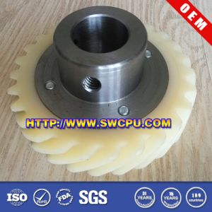 Mc Machining Plastic Gear for Auto Parts (SWCPU-P-W058) pictures & photos