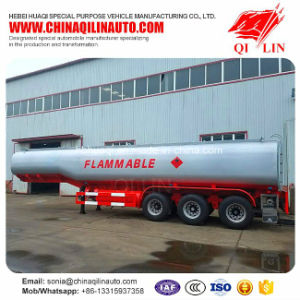 3 Axles Fuel Tanker Semi Trailer with German Suspension pictures & photos