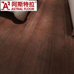 Black Color of 12mm Waterproof Lamiante Flooring pictures & photos