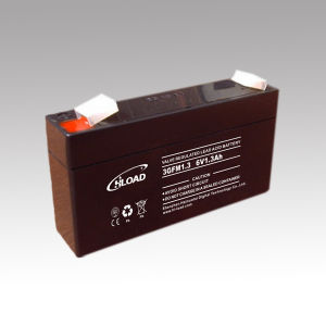 6V1.2ah SLA Sealed Maintenance Free Lead Acid Battery pictures & photos