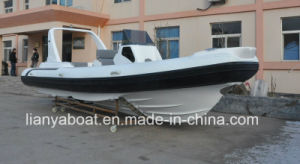 Liya 7.5m Rigid Hull Pontoon Boat Electric Yachts for Sale Dubai pictures & photos