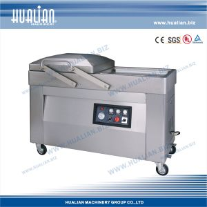 Hualian 2016 Vacuum Packaging Machine with Gas (HVC-510S/2A-G) pictures & photos